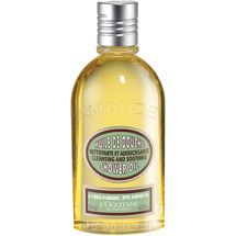L'Occitane Almond Oil.  I recommend this (as well as Bella Tummy Butter)  for rubbing on belly, breasts, backside, thighs, etc to prevent itchyness and stretch marks during pregnancy.  It smells very natural and is very soothing.  It is pure oil so I use it at night, not under nice clothes.   I alternate with Bella Tummy Butter.