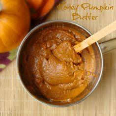 Honey Pumpkin Butter, yum, yum, yum!!! via Dulce Delicious