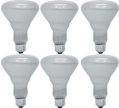 GE Lighting 24705 65Watt 470360Lumen BR30 Commercial Indoor Reflector Floodlight Bulb Soft White 6Pack * For more information, visit image link. (Note:Amazon affiliate link)