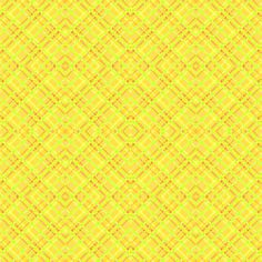 Geometric Plaid Matrix of Yellow and Rusty Orange with Accents of Lime Green, on the Diagonal fabric by maryyx on Spoonflower - custom fabric