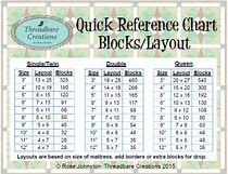 Image result for how many 9 inch blocks for a queen quilt
