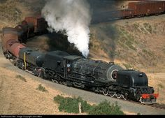 RailPictures.Net Photo: SAR 4074 South African Railways Steam 4-8-2+2-8-4 at Donnybrook, South Africa by John West