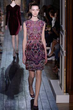 Valentino Fall 2012 Couture Fashion Show - Merie Majer (WOMEN)