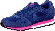 0091201718825   #Nike #WMNS #MD #RUNNER 2 #Sneaker #Damen #dunkelblau/pink