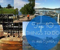 Top 10 things to do in Kelowna before summer ends including feeding baby Kangeroos, Paddle boarding, Golf, Hiking Knox Mountain, Biking Kettle Valley #Kelowna #ThingToDo