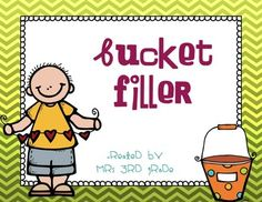These bucket filler posters will be perfect to hang in your classroom as a reminder to students that they are to be filling each other's buckets and not dipping into each others buckets!  I can't wait to print the writing sheets 4 to a page and having students use these for an exit slip!!