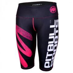 Zig Zag 1/2 Compression Shorts Women  #buy #streatwear #pitbullsports #tee