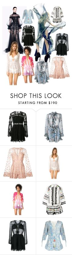 """""""Dance in the Breeze..."""" by lalu-papa ❤ liked on Polyvore featuring Alexander McQueen, Zimmermann, Zuhair Murad, For Love & Lemons, Young, Fabulous & Broke, Dodo Bar Or and Athena Procopiou"""