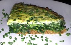Schlemmermittwoch: low carb Spinat Quiche