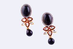 Easy to cart along when you travel, these jewels can be your faithful companion and help you look fab even when you are on the move. http://www.shopclues.com/oval-black-earrings.html