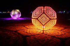 HYBYCOZO, burning man, art, design, sacred geometry, interior design, patterns, islamic patterns, geometric patterns, sculpture, installation art, hitchhiker's guide to the galaxy, douglas adams, math art, the hyperspace bypass construction zone
