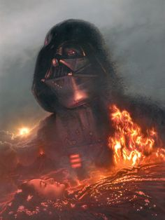 Darth Vader / Padme- Paper A/P by Jerry Vanderstelt