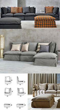 Gervasoni Sofa Ghost Sectional