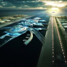 """Dezeen - Extension to London's Heathrow Airport would  """"only be a sticking plaster,"""" says Gensler"""