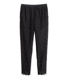 Product Detail | H&M US lace pant