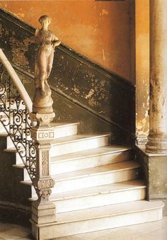 Stairway in Old Havana featured in the book Living in Cuba.  Photographed by Simon McBride.