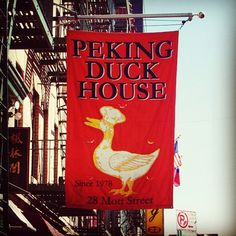 Peking Duck House in New York City's Chinatown........My favorite restaurant in New York, it was Yummy!!