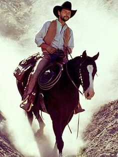 Billy Crystal and his horse Beechnut