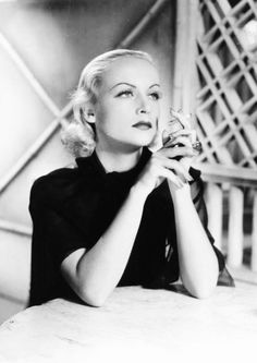 "Carole Lombard, 1930s  One of the few people in the universe that was ""before my time"","