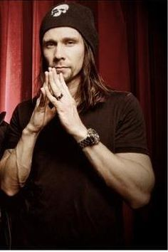 Myles Kennedy!!! I love hearing him with Slash...the man has a five-octave range.