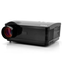 "Android 4.2 HD Proyector ""DroidBeam"" - 3000 Lumens, 2000:1, WiFi, 1.5GHz Dual Core CPU, Memoria interna 8GB (Negro)"
