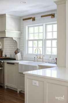 How Japanese Interior Layout Could Boost Your Dwelling Bayberry Kitchen Remodel Reveal - Kitchen Makeover Kitchen Design Kitchen Decor, Kitchen Design, Kitchen Ideas, Kitchen Updates, Kitchen Colors, Mason Jars, Curtain Styles, All White Kitchen, Japanese Interior