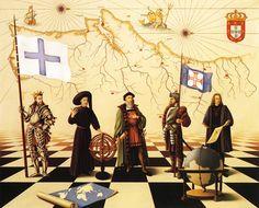 Portugal, 1998, oil on canvas (100 x 80 cm, 39 x 31)