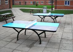 School Table Tennis Tables, Outdoor Table Tennis, AMV Playgrounds.
