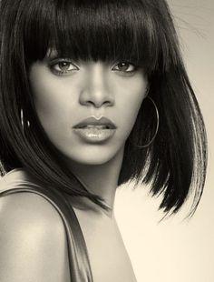 Rihanna, love the hair~                                                                                                                                                                                 More