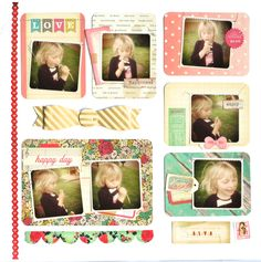 PL inspired page by Petra Offrell
