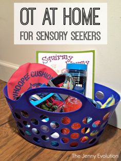 OT Ideas for Sensory Seekers You Can Do At Home: Try these tricks in your own home to get your child started on OT.