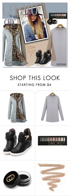 """""""romwe 1."""" by igor89 ❤ liked on Polyvore featuring Forever 21, Gucci and romwe"""