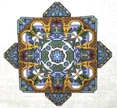 Alhambra Garden Cross Stitch Pattern by Chatelaine Designs, Martina Rosenberg   http://europeanxs.com/cgi-bin/chat_detail.pl?CD027-