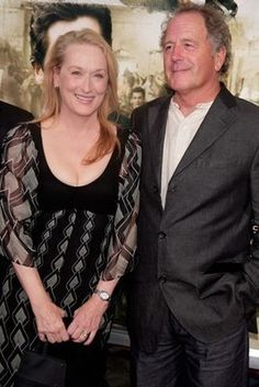 meryl streep and don gummer...married for a thousand years, and still got it!