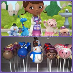 #docmcstuffins #cakepops #docmcstuffinscakepops cakepops