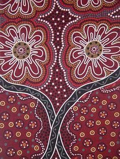 Woman's Business   Australian fabric based on traditional Aborigine paintings Mandala Pattern, Mandala Art, Australian Painting, Aboriginal Artwork, Magic Design, New Media Art, Dot Art Painting, Celtic Art, Indigenous Art