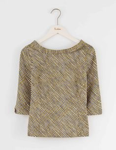 Mia Top WA737 3/4 Sleeved Tops at Boden