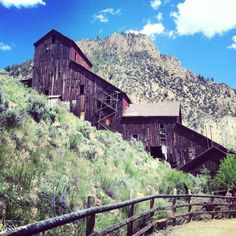 Bay horse ghost town in Idaho