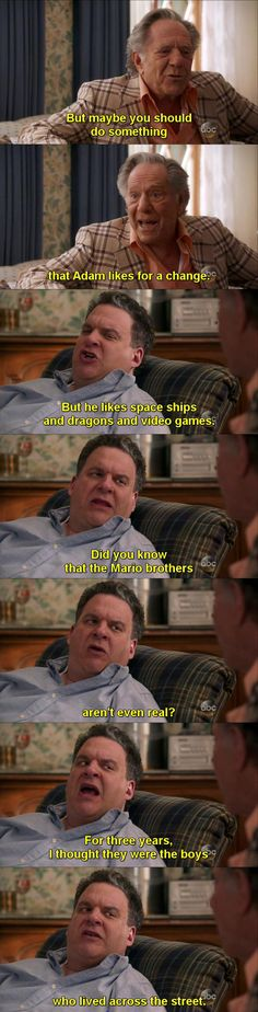 The Goldbergs nailed it.