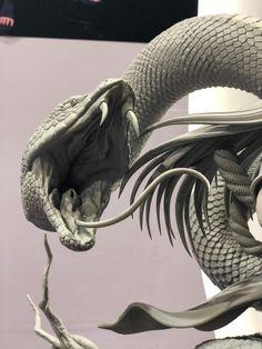 Medusa Snake, Medusa Art, Snake Art, Cobra Tattoo, Snake Tattoo, Animal Sculptures, Sculpture Art, Rennaissance Art, Snake Photos