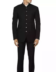 Black Bandhgala with Oyester Shell Buttons ₹ 16700 by Arjun Khanna on SummerLabel. Sells Men. Fashion, Lifestyle Store. Sporty Men's Couture