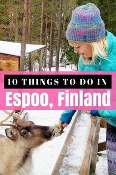 10 fun and amazing things to do in Espoo Finland, just 30 minutes from Helsinki.