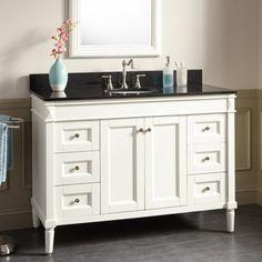 "48"" Chapman Vanity for Undermount Sink - White"