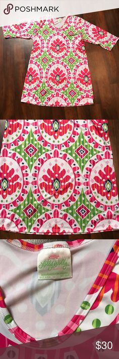 Lolly Wolly Doodle Pink White Aubrey Dress Lolly Wolly Doodle Plus Size Pink White Aubrey Dress  Lolly Wolly Doodle Plus Size Pink White Green Aubrey Dress Retired Print Size 3X or XXXL Brand Lolly Wolly Doodle Fabric Polyester Spandex with Stretch  Measurements Length: 43 inches Chest: 50 inches Waist: 42 Inches Hips: 52 inches  * Excellent condition with no sign of wear, tear, or stains. * Smoke Free Home * Pet Free Home * Daily Shipper * Save with bundle discount! * Open to reasonable…