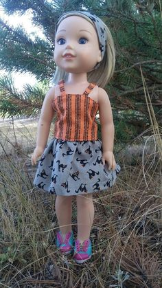 Check out this item in my Etsy shop https://www.etsy.com/ca/listing/480108927/145-doll-clothing-black-cat-outfit