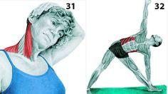 Como estirar los musculos despues del ejercicio | Decoración de Uñas - Manicura y Nail Art