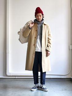 YAECA ヤエカ Soutien Collar Coat ステンカラーコート 165002