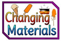A set of 10 colorful A4 printable posters showing the different ways materials can change. With a title poster, the set includes freezing, heating, cooling, melting, boiling, stretching, twisting, squashing and bending. Visit our TpT store for more information and for other classroom display resources by clicking on the provided links.