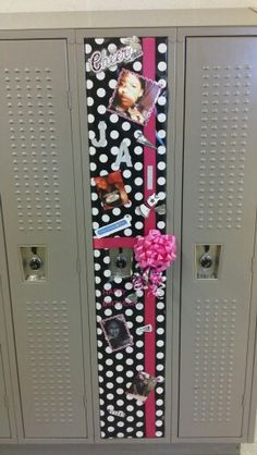 Locker Decoration Ideas decorate a school locker for a birthday | lockers, birthdays and