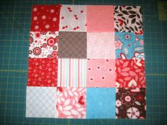 Today I am guest blogging over at Stash Manicure  and sharing a part of my Happy Quilting Quilt-A-Long. That is how to make a Disappearing...